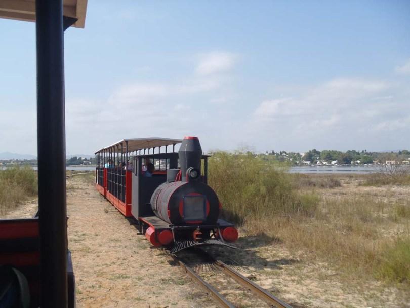 Zug zum Praia do Baril - Algarve Portugal