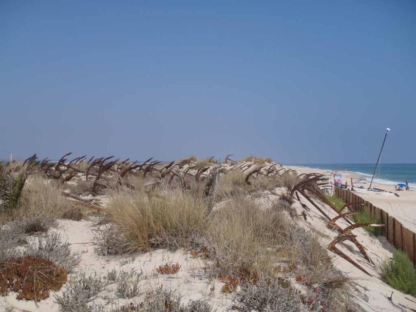Anker am Praia do Baril - Algarve Portugal