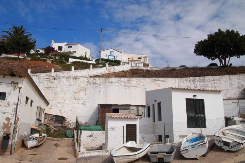 Fischerdorf Burgau an der Algarve
