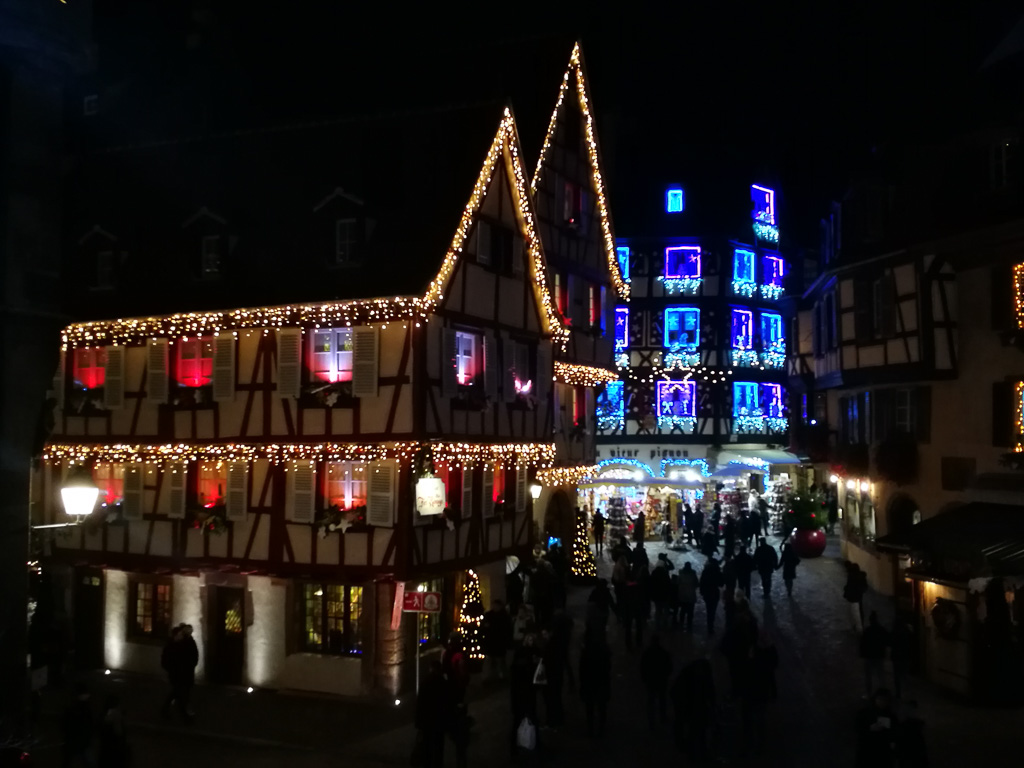 Impressionen Weihnachtsmarkt Colmar