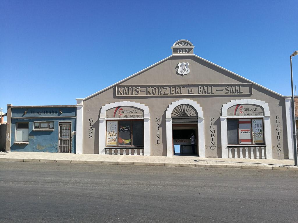 Kapps Konzert und Ballsaal in Lüderitz - Namibia