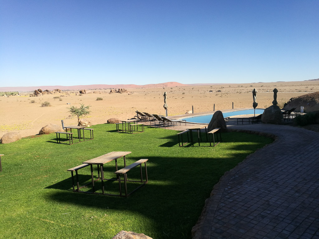 Foto: Pool im Desert Cuiver Camp