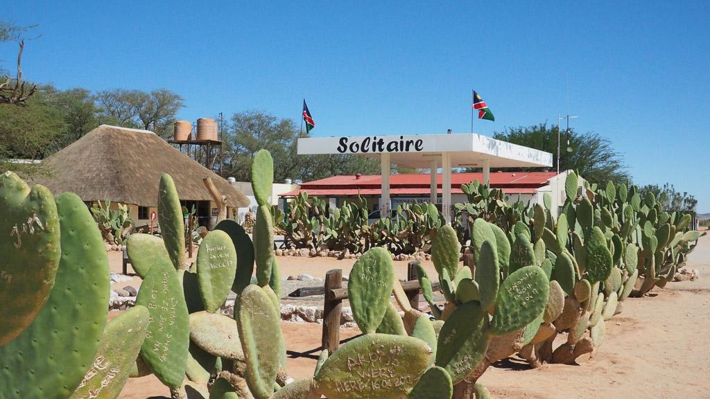 Foto: Tankstelle Solitaire