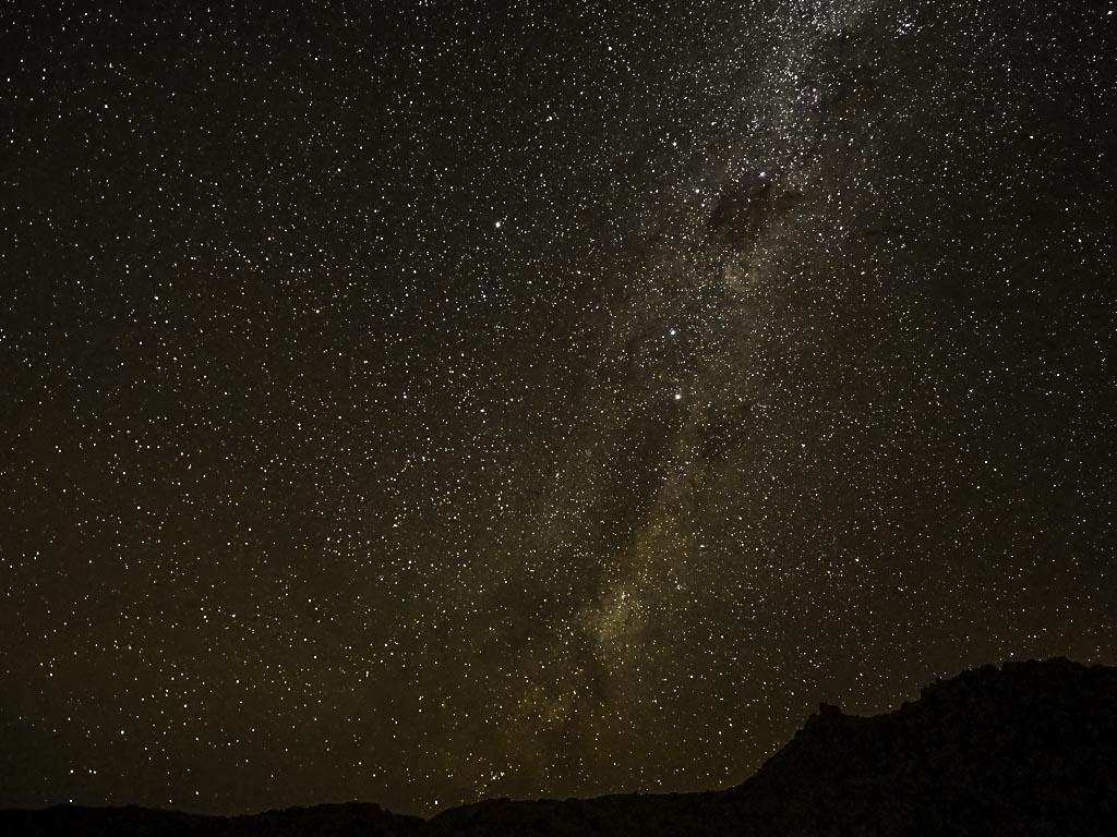 Foto: Milchstraße über dem Tiras Gebirge