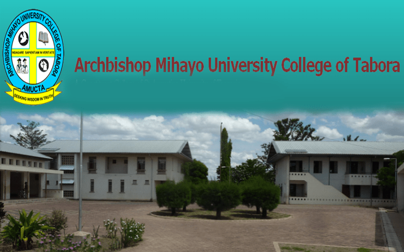 Job Opportunities at Archbishop Mihayo University College of Tabora (AMUCTA)