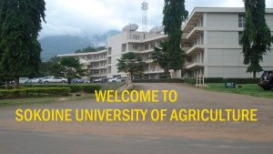 Welcome to Sokoine University of Agriculture SUA