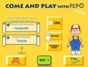 Come and Play with pipo start menu