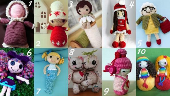 Raccolta di Idee 10 progetti per fare bambole all
