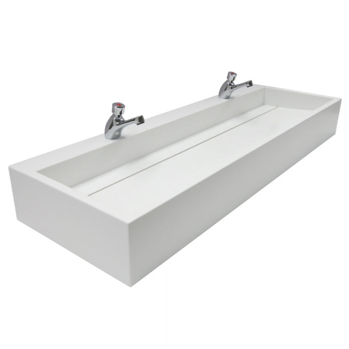 Stainless Steel Trough Sinks For Schools  Colleges