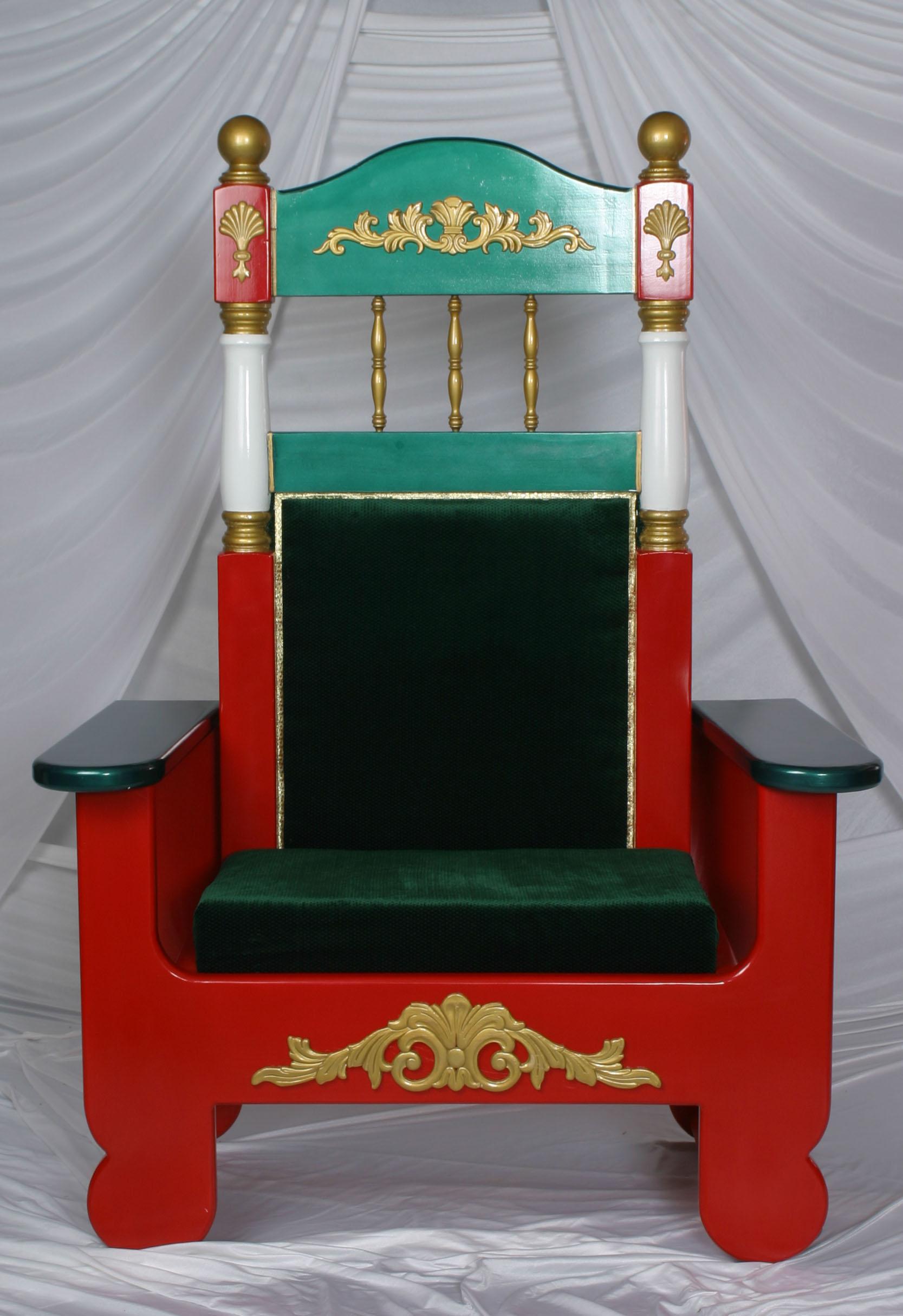 santa claus chair slipcover for dining school4santas store