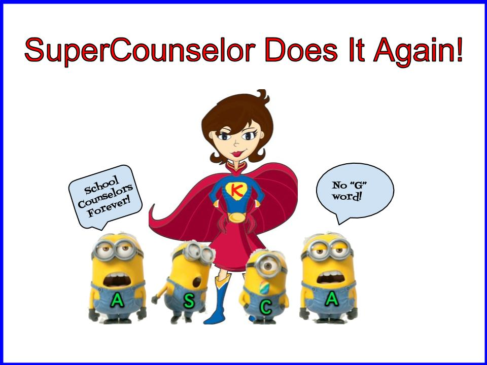 SuperCounselor Saves The Future of School Counseling ...