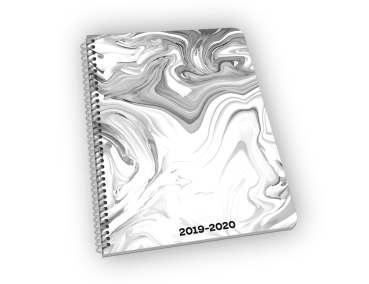 Marble mid-size standard cardstock cover
