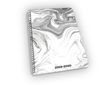 Marble small standard cardstock cover