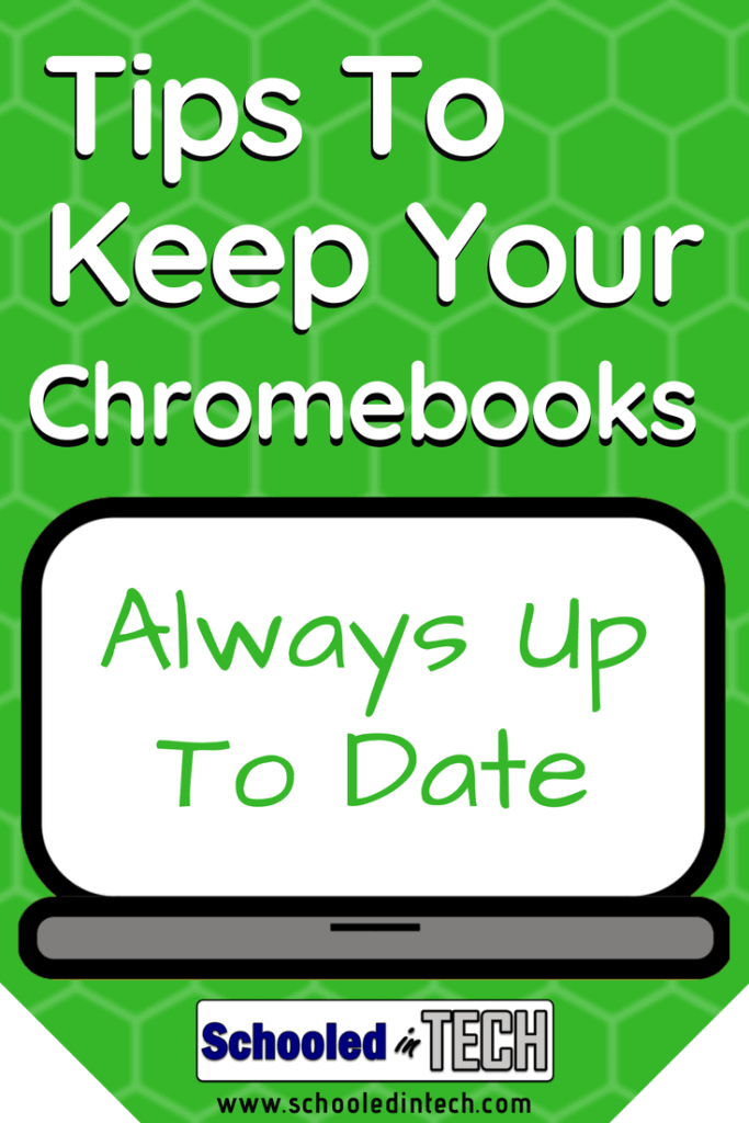 How To Manually Update & Keep Chromebooks Up To Date | Schooled in Tech
