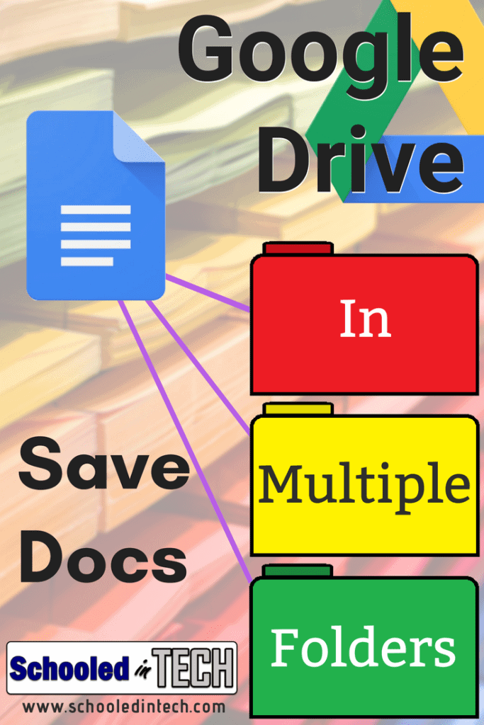 Save a Google Doc to Multiple Folder Locations within Google