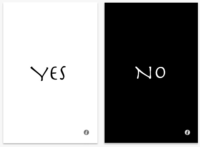 Yes/No App