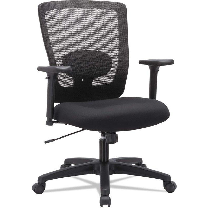 alera office chairs slipcover for chair mesh adj arms black alenv42b14 schoolfurniture4less com our reg envy series mid back swivel and tilt with height