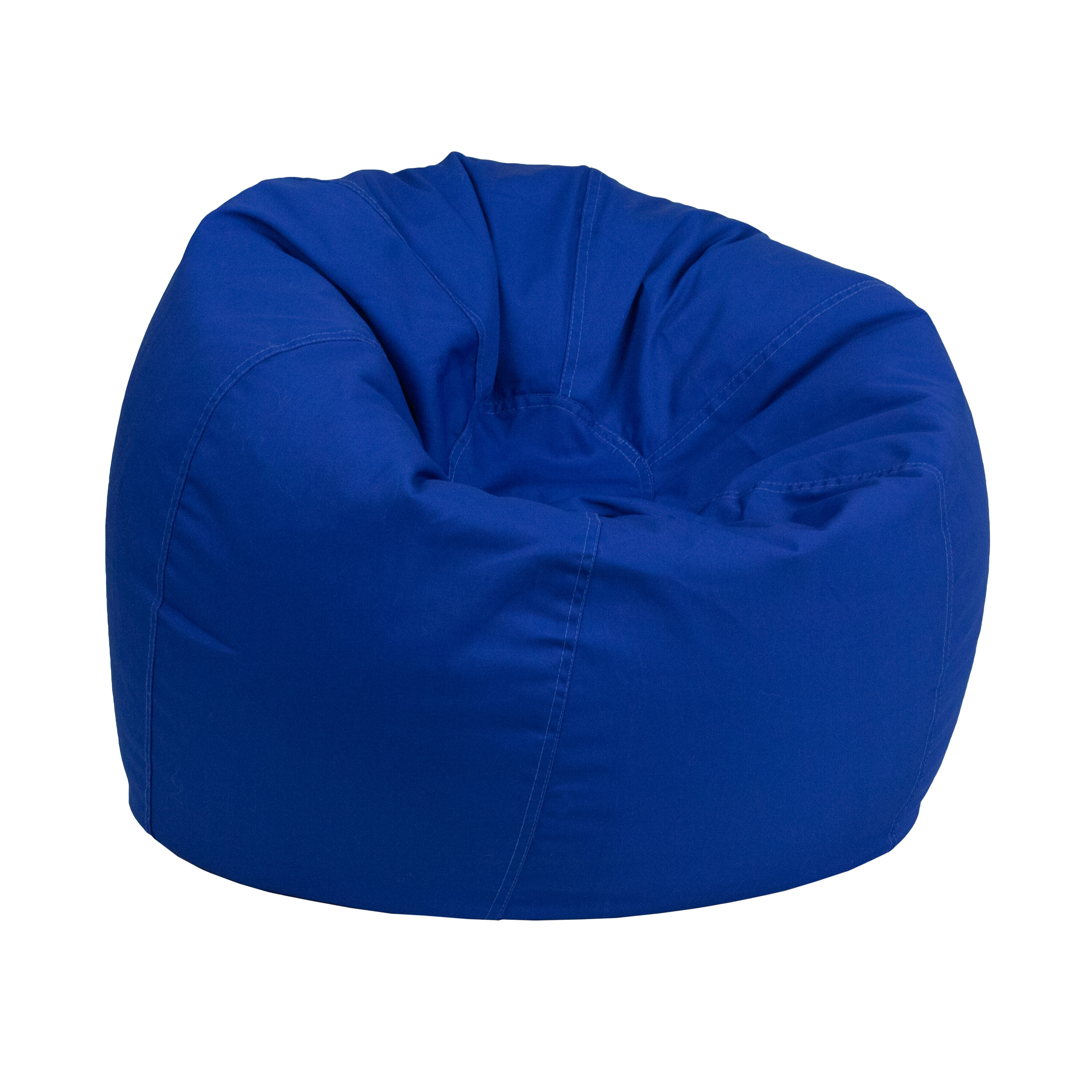 blue bean bag chairs massage chair panasonic royal dg small solid roybl gg images our kids