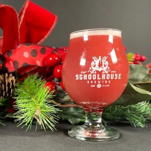 Imperial Sour Before X-mas berliner with festive wreath decoration