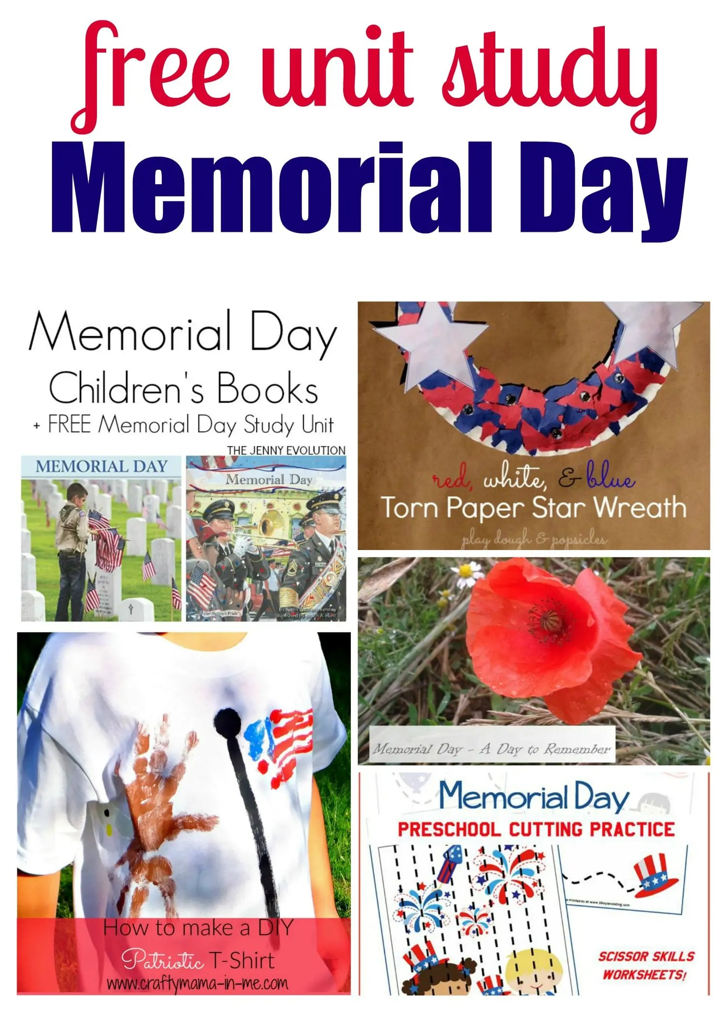 Memorial Day Penmanship Worksheet