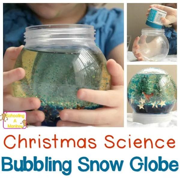 Christmas Crafts Snow Globes