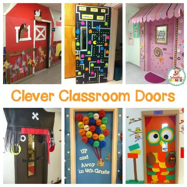15 Amazing Classroom Door Ideas that Will Make Your