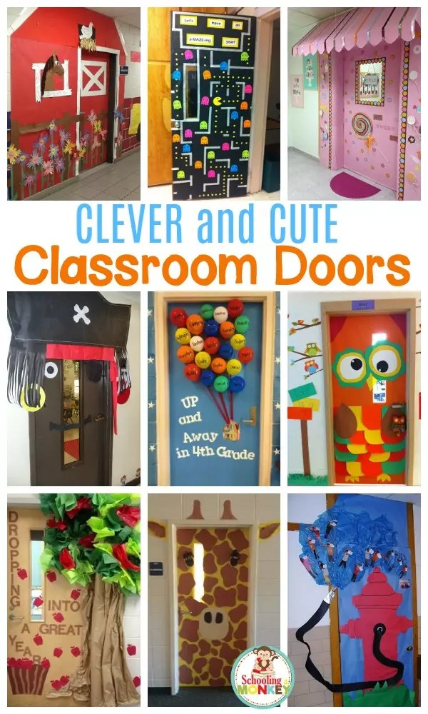 Classroom Door Decoration Ideas 4th Grade  Review Home Decor