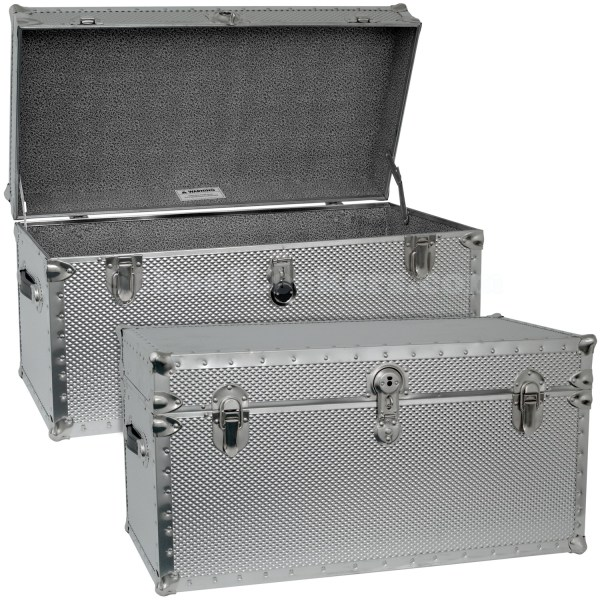 Steel Storage Trunks Foot Locker