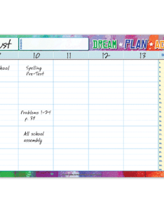 Elementary student planner wall chart also planners features  pricing school mate rh schoolmate