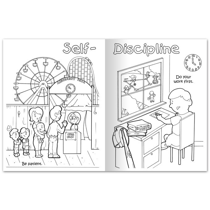 Free coloring pages of self respect