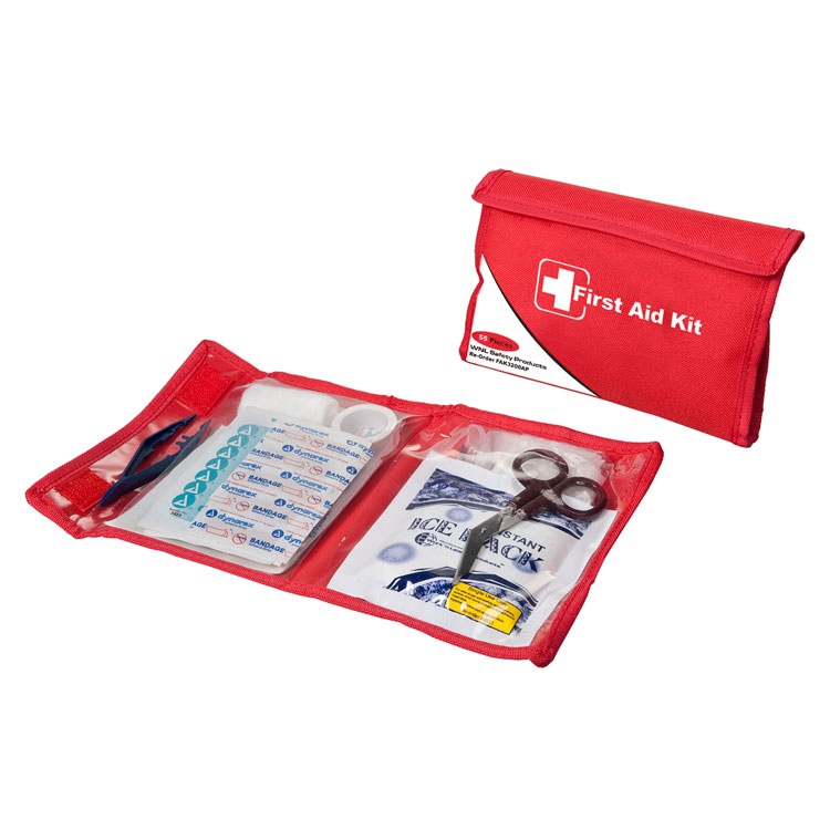 Personal First Aid Kit In Soft Case