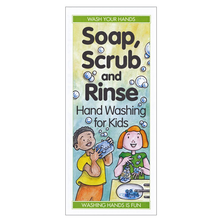 Soap Scrub And Rinse Hand Washing For Kids Each