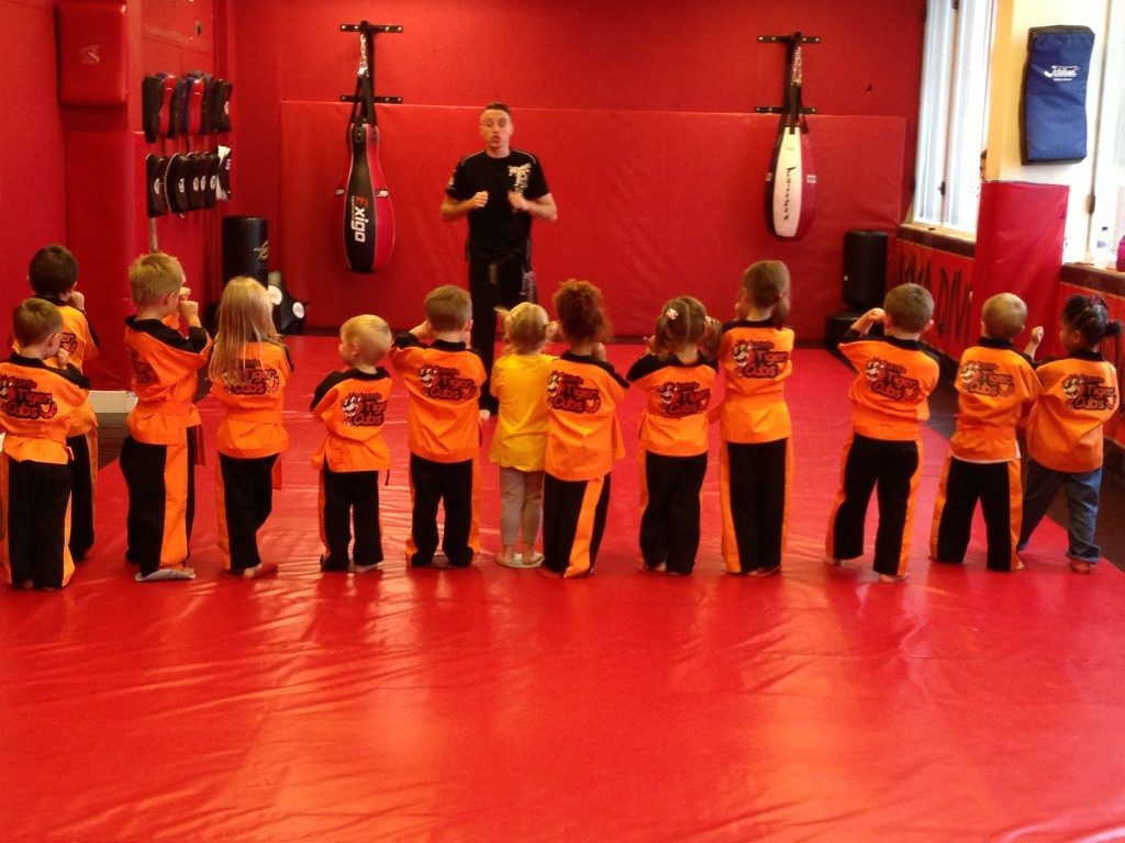 Tiny Tigers taught by world Champ Ryan Davies.