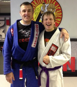 Martin Cope of Eclipse Martial Arts Academy Receives his BJJ Black Belt