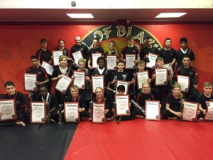 Adult Kickboxing Black Belts Results