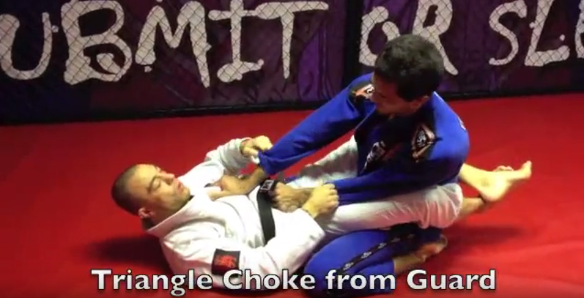 Neil Simkin BBJ Black Belt – Triangle Choke