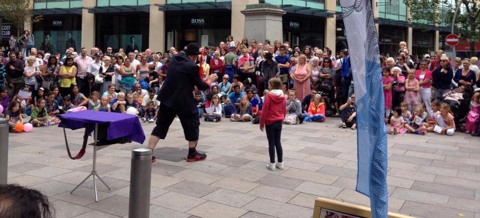 Mario Morris Street Performer