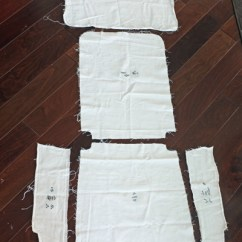 Chair Covers Diy Mickey Mouse Dining Slipcovers From A Tablecloth I