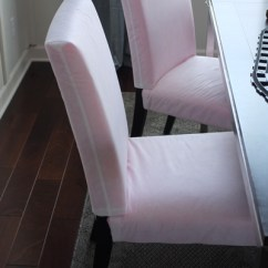 Pink Chair Covers Ikea Desk Chairs At Target Make A Slipcover Pattern Naked Dining