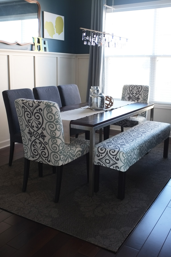 dining chair covers diy grey tufted chairs canada slipcovers from a tablecloth bench slipcover