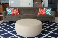 Modern Americana Family Room Rugs and Pillows