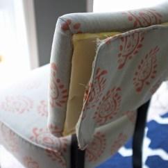 Upholstered Slipper Chair Desk Armless Diy Chairs With Velvet Drapery Slipperchair5