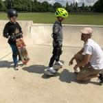 Check foot positioning skateboard