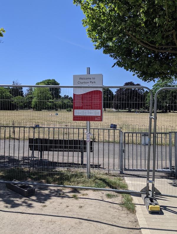 charlton skatepark still closed due to covid19