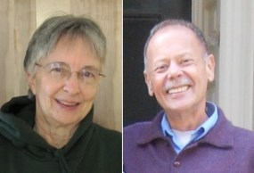 Photos of April Allison and Roger Hansen