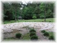 Labyrinth at Avila Retreat Center, North Carolina