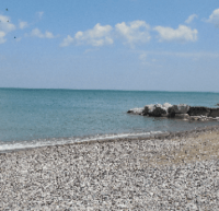 View of Lake Michigan near the Siena Center