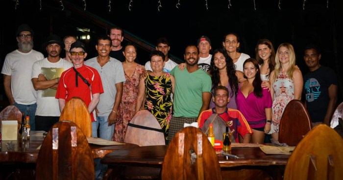 Some of our wonderful family at a holiday staff party in 2013