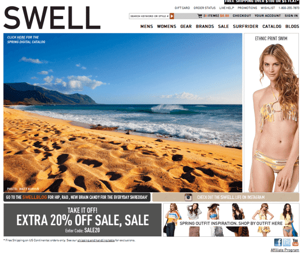 swell contest promo
