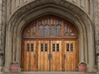 Church's Entrance, FREE Stock Photo, Image, Picture: Old ...